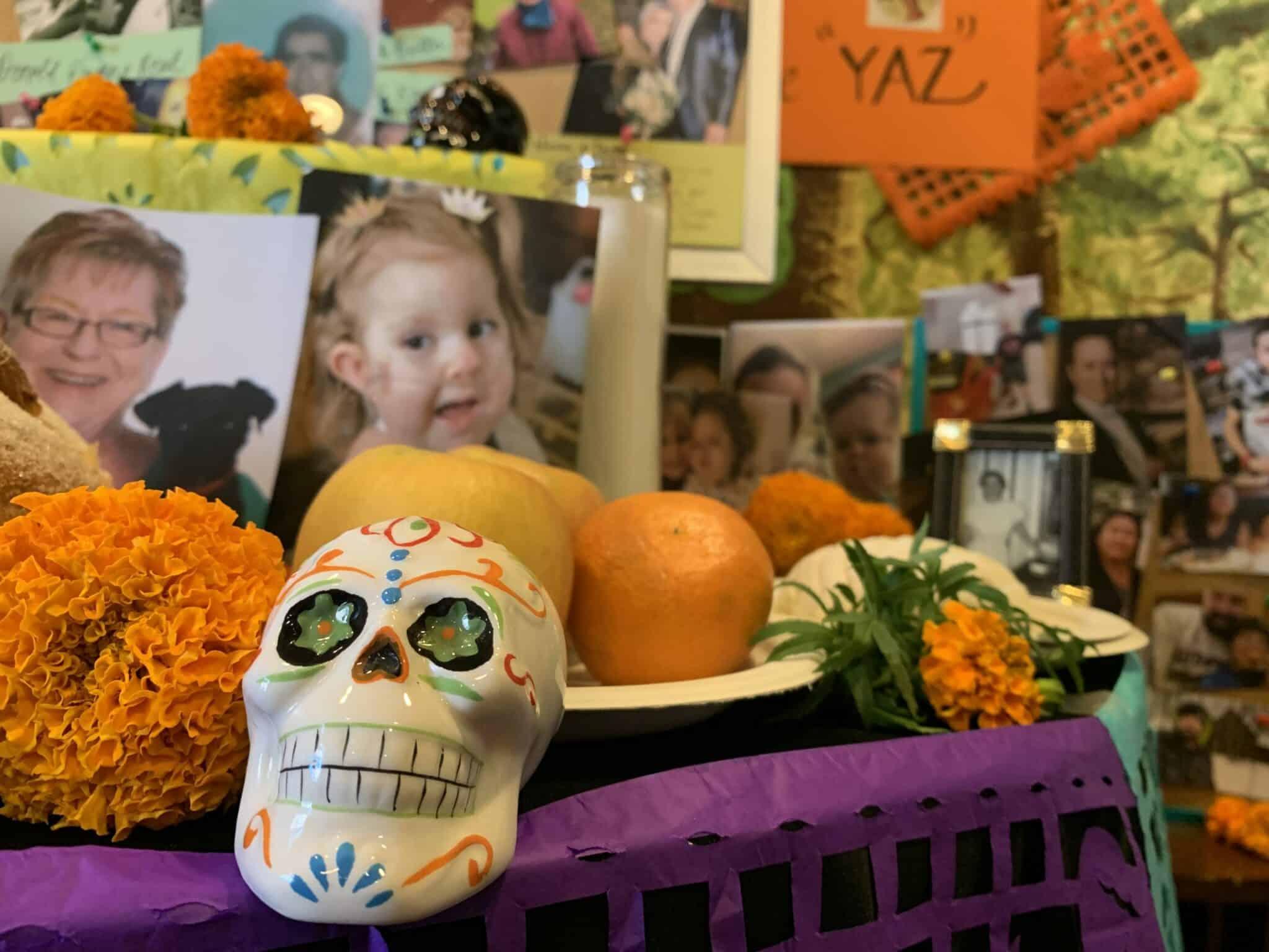 Community Ofrenda: A Día de los Muertos Celebration